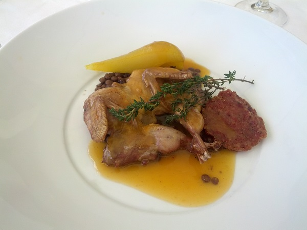 Bistro Molines - panfried quail 2