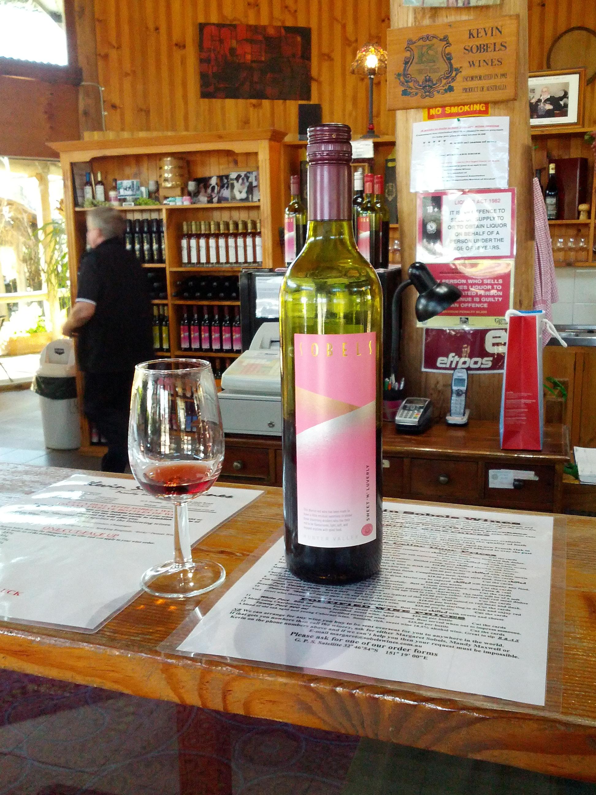 Kevin Sobels - wine tasting