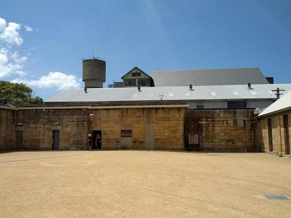 Convict Courtyard on Cockatoo Island.