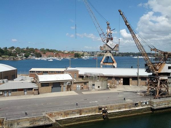Docks Precinct on Cockatoo Island.
