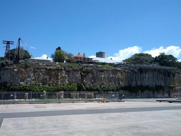 Cockatoo Island's Historic Residence.