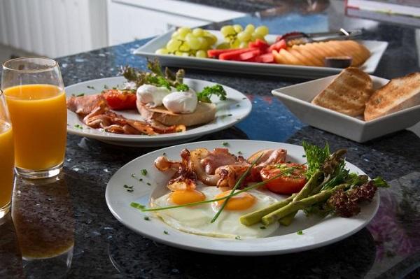 Katoomba Manor - breakfast