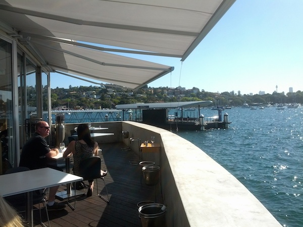 Outside deck - Catalina, Rose Bay