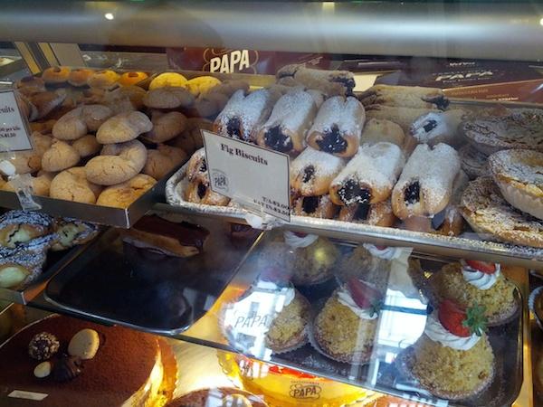Papas Haberfield - Dessert coutner