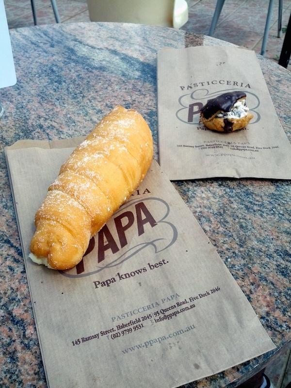 Papas Haberfield - Dessert