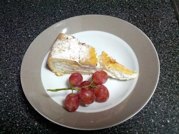 Baked Ricotta Cheesecake, Papas