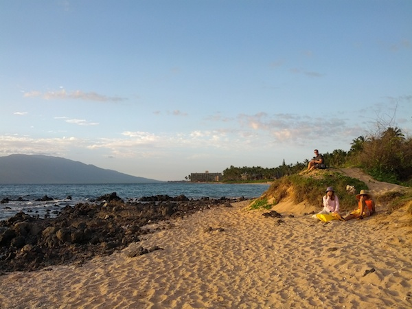 Maui - Wailea Beach before sunset