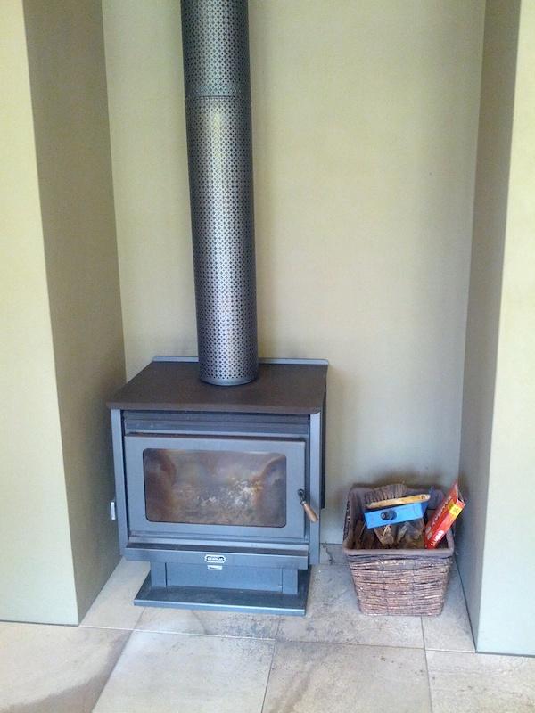 The Dairy @ Cavan - fireplace