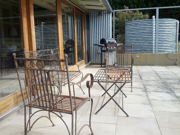 The Dairy @ Cavan - porch area