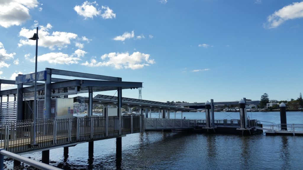 Teneriffe Ferry Terminal.