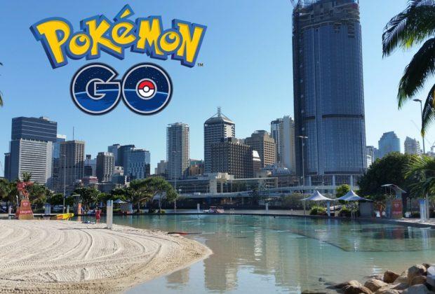 Pokemon Go Brisbane
